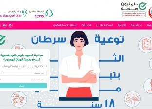 حملة دعم صحة المرأة المصرية