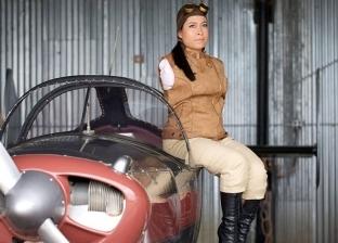 جيسكا كوكس أول طيارة بدون ذراعين