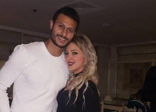 محمد الشناوي وزوجته