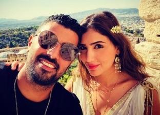 مي عمر وزوجها