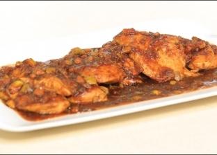 دجاج بالخل البلسميك