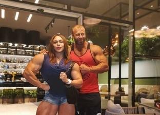 ناتاليا كوزنتسوفا وزوجها