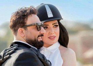 عبير صبري تنشر صورة بصحبة زوجها وتعلق: