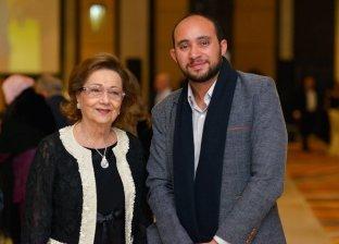 سوزان مبارك بصحبة مصور الوطن