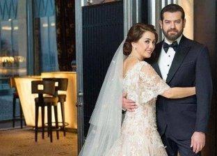 كندة علوش تعرض فستان زفافها على عمرو يوسف للبيع لهذا السبب