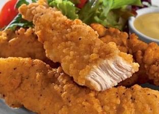 الدجاج المحمر بالبقسماط