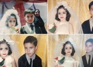 محمد وفاطمة افترقا في حفل الحضانة والتقيا بعد الجامعة
