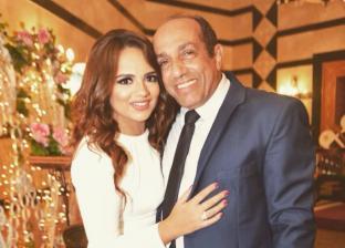 بسنت ووالدها الفنان أحمد صيام