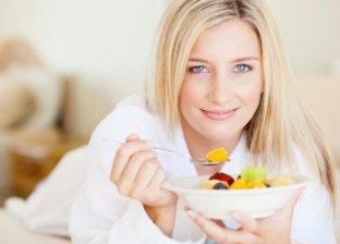 تناول أكل صحي