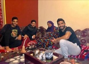 والدة عبد الله وصالح جمعة  تعلق على إصابتهما
