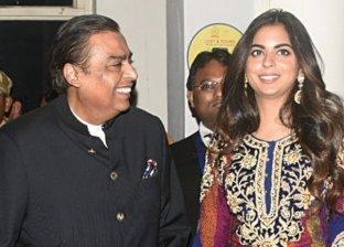 ابنة أغنى رجال أعمال هندي إيشا