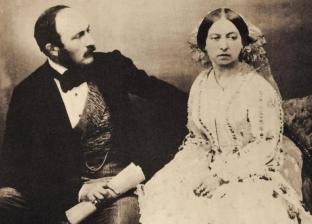 الملكة فيكتوريا وزوجها الأمير ألبرت