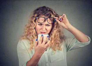 أعراض قصر البصر