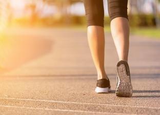 المشي يوميا