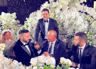 نادر حمدي خلال حفل زفافه