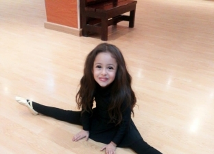 اصغر لاعبة باليه في مصر