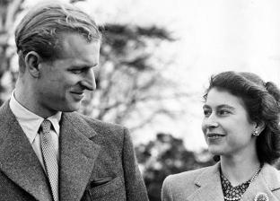 الأمير فيليب وزوجته إليزابيث الثانية