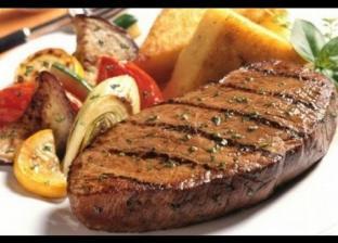 لحم مشوي