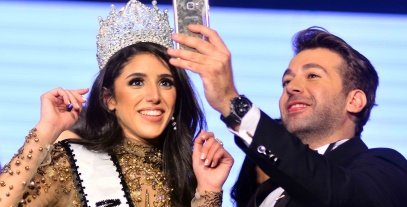 فرح صدقي تتوج بلقب ملكة جمال مصر للكون