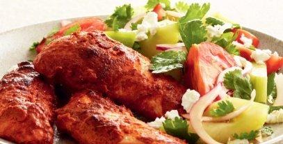 طريقة عمل الدجاج التندوري