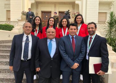 بالصور| نص برقية الرئيس السيسي إلى «أبطال الاسكواش»