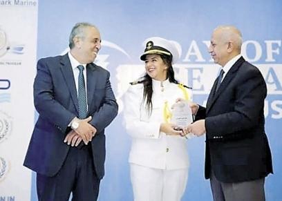 أول مهندسة بحرية مصرية