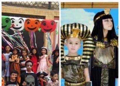 احتفالات الهالوين في المدارس في زمن كورونا