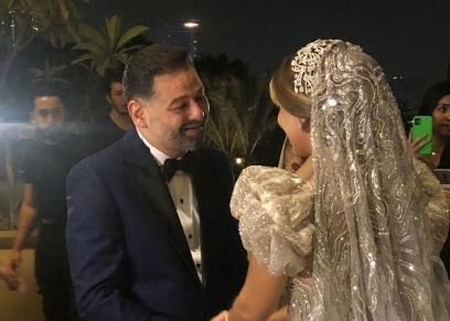 حفل زفاف الفنان أمير شاهين