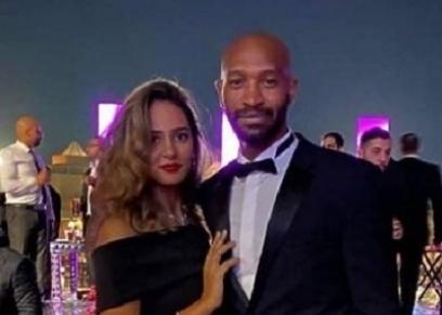 شيكابالا وزوجته