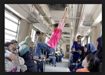 عربات مترو السيدات