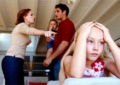 انفصال الوالدين