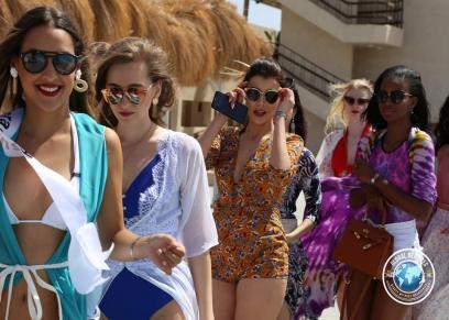 ملكة جمال العالم للسياحة والبيئة في الغردقة