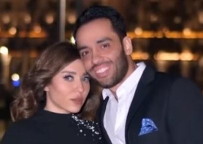 رامي جمال وزوجته بمناسبة عيد الحب