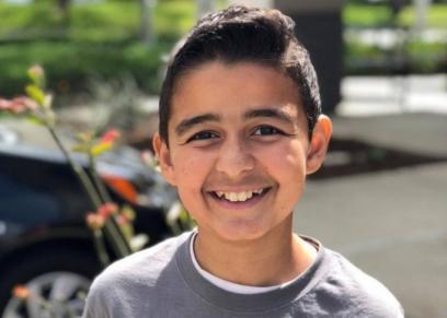 .الطفل زين يقدم كلمات تشجيعية بعد تعافيه من السرطان