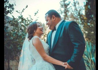 الصور الأولى لزفاف محمد ممدوح ورزالين البيه بـ