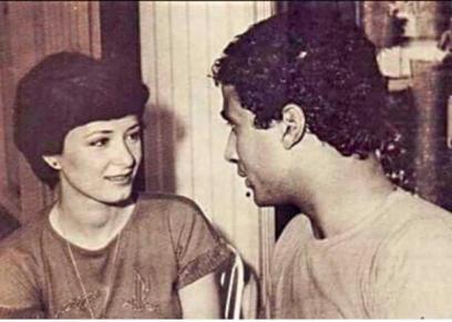 أحمد زكي وهالة فؤاد
