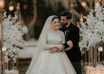 زفاف شقيق محمد صلاح