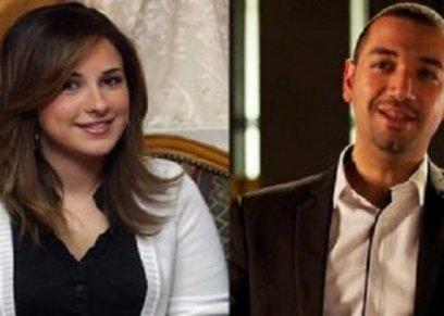 معز مسعود وزوجته