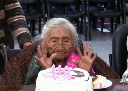 تحتفل بعيد ميلادها 118