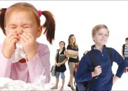 تعرف على الأمراض المعدية بين الأطفال