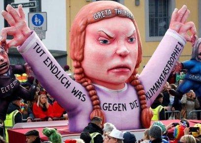 شجاعة طفلة سويدية في