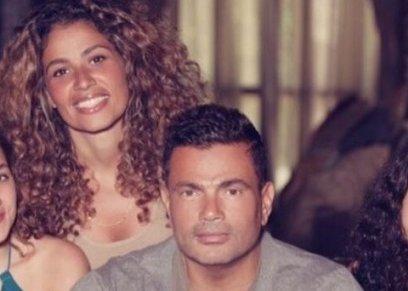 عمرو دياب وعائلته
