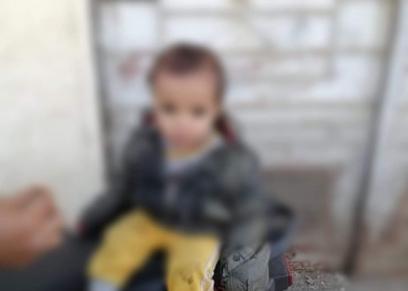 طفل عُثر عليه في مدينة السلم
