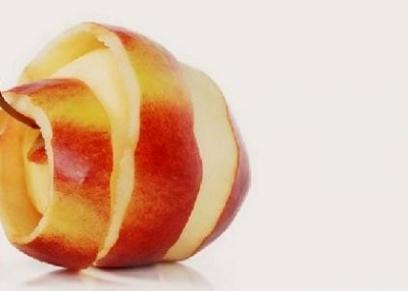 قشرة التفاح