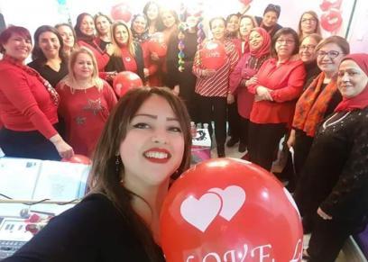 رحمة بن عفانة مؤسسة نادي السيدات فقط في تونس