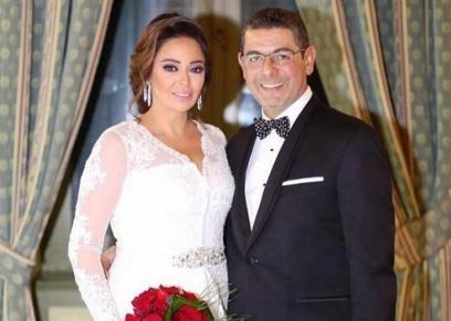 داليا البحيري وزوجها