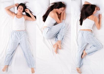 وضعيات النوم الصحيحة