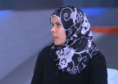 سماح العربي أرملة الشهيد محمد إسماعيل