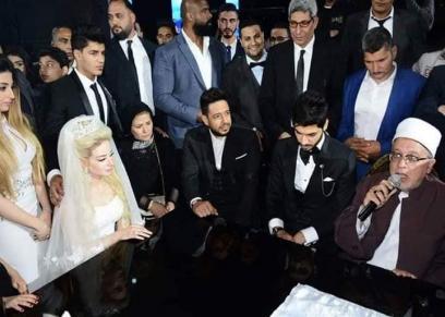 مشاهد في حفل زفاف علي جبر
