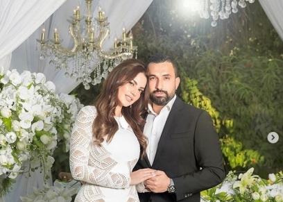 درة وزوجها هاني سعد